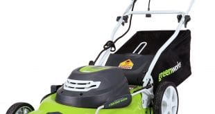 Greenworks 20-Inch Corded Lawn Mower