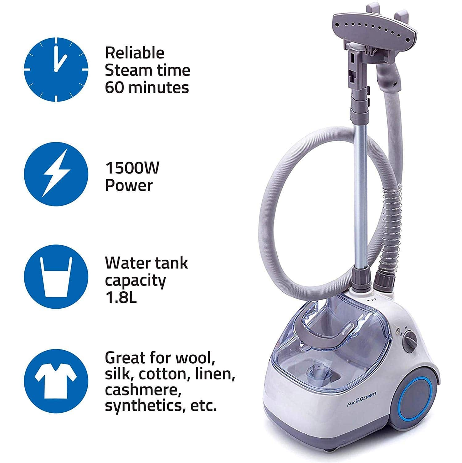 PurSteam Elite Garment Steamer