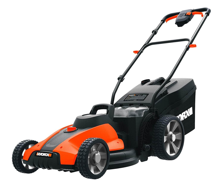 Worx WG744 17-inch Cordless Lawn Mower