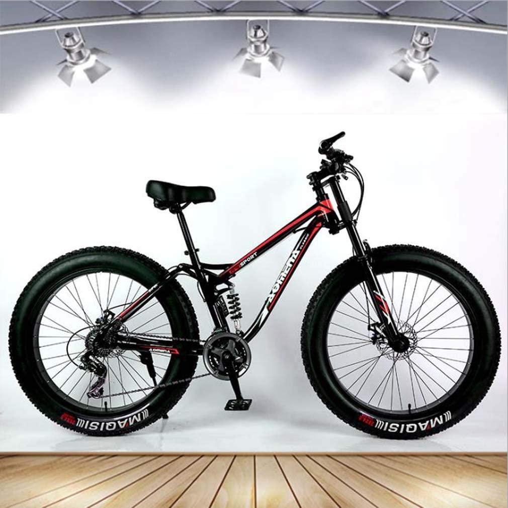 AISHFPAdult Fat Tire Mountain Bike