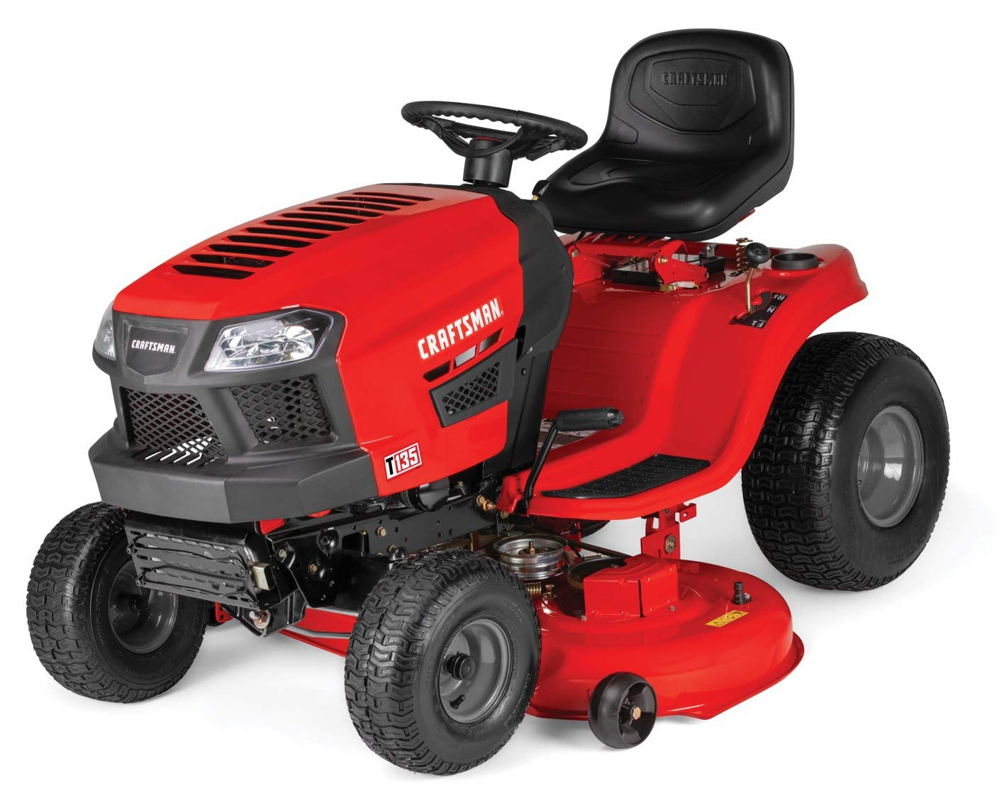 Craftsman T135 18.5 HP Briggs & Stratton 46 Inch Gas Powered Riding Lawn Mower