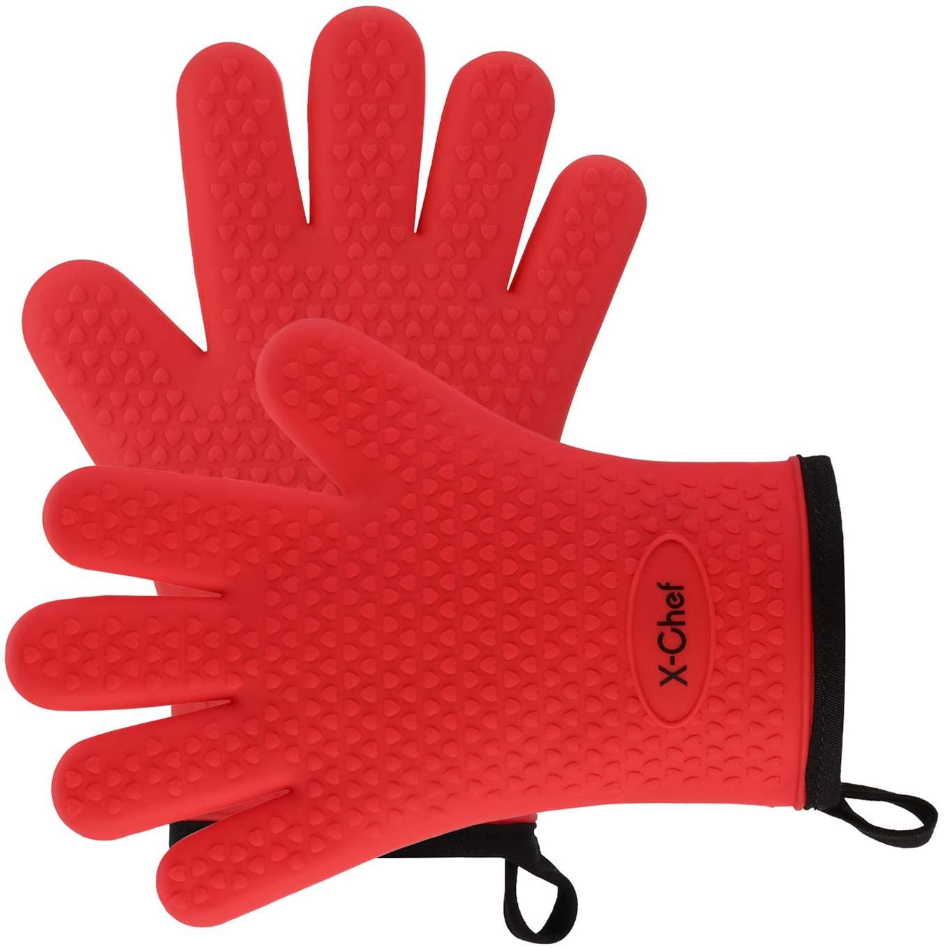 X-Chef Silicone Kitchen Gloves