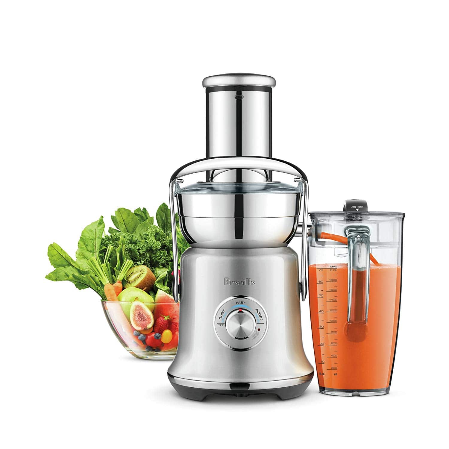 Breville BJE830BSS1BUS1 Juice Fountain
