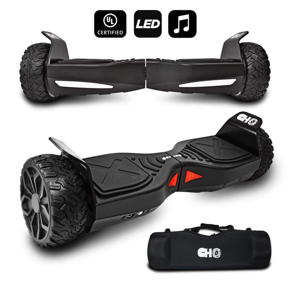 CHO[TM All Terrain Self Balancing Hoverboard