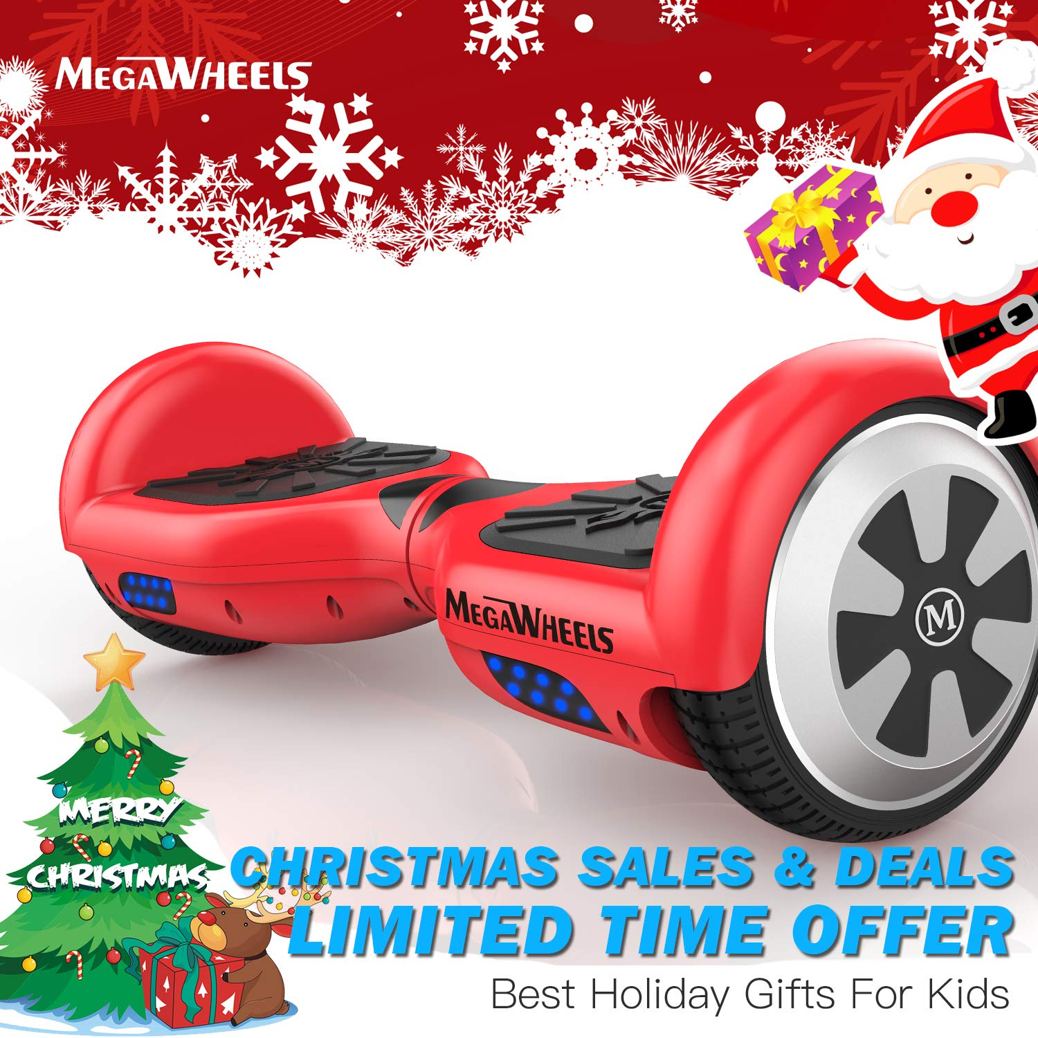 MEGAWHEELS Hoverboard – Self Balancing Scooter