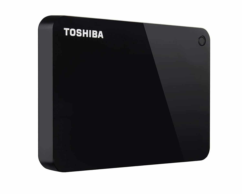 Toshiba Canvio 1TB External Hard Drive, Black