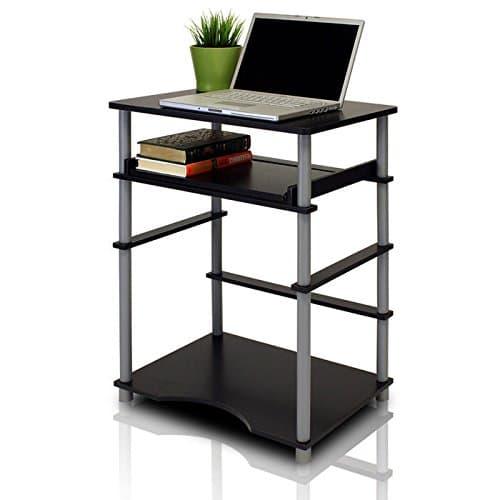Furinno 10016LC/BK Computer Desk