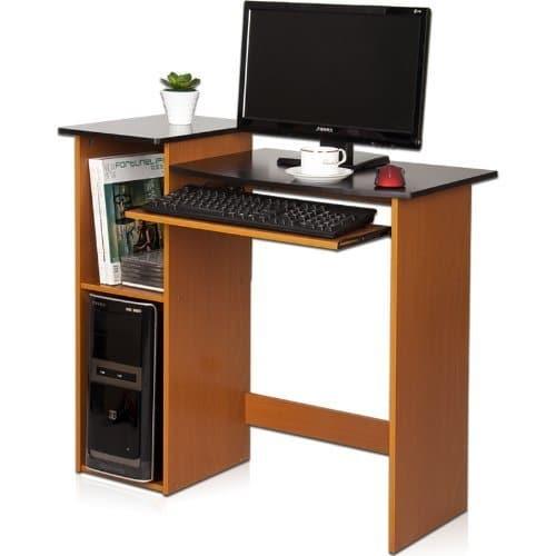 Furinno 99914R1LC/BK Econ Computer Desk