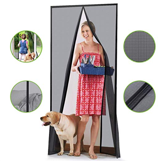 Homitt [Upgraded Version] Magnetic Screen Door