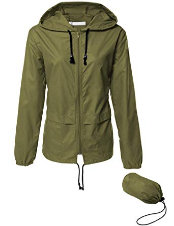 Lightweight Waterproof Raincoat For Women