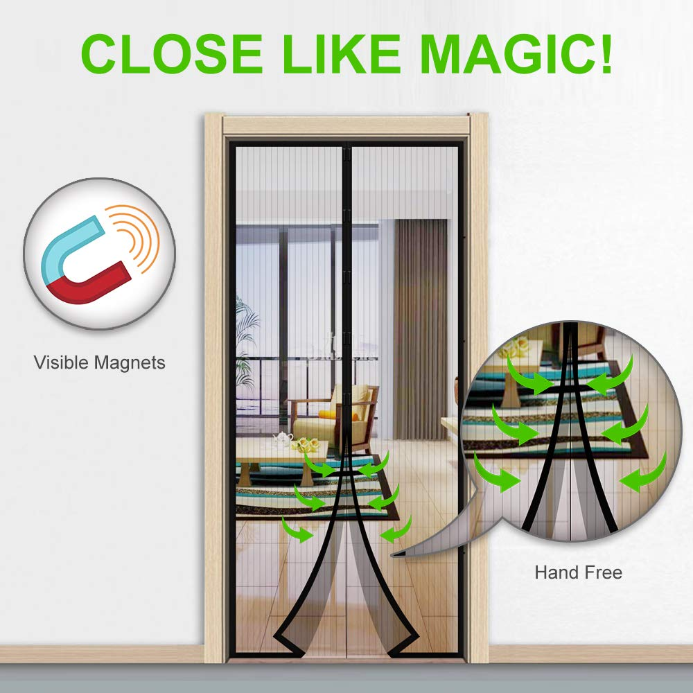 MONOLED Magnetic Screen Door