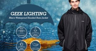 Top 10 Best Men Rain Jackets in 2019 Rviews