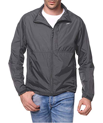 Trailside Supply Co. Windbreaker Front-Zip up Jacket
