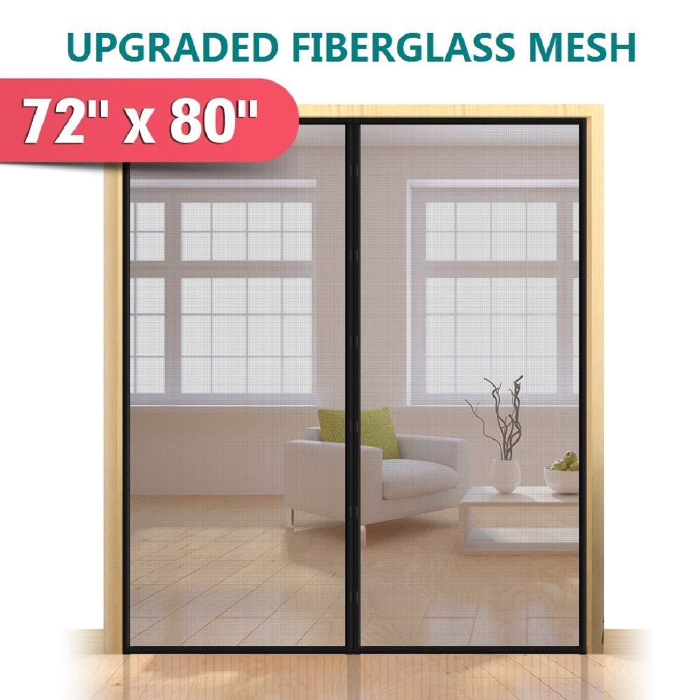 """Upgraded 72""""x80"""" Magnetic Screen Door"""