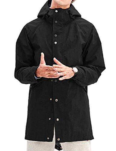 poriff Mens Rain Jacket