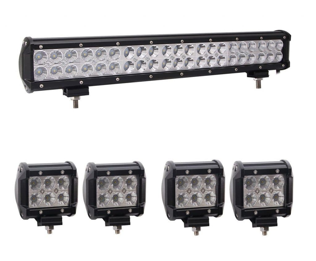 Bangbangche Flood Spot Combo CREE LED Light Bar