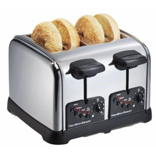 Hamilton Beach Classic Chrome 4-Slice Toaster