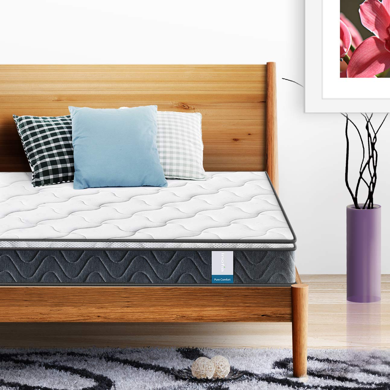 Inofia Hybrid Innerspring Twin Mattress