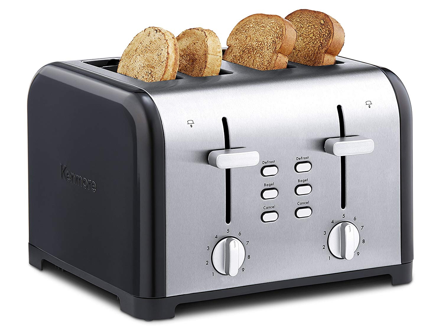 Kenmore 4-Slice Toast with Dual Controls