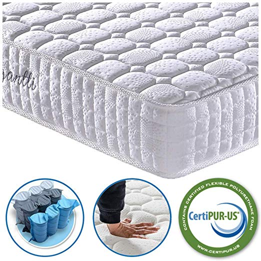 Vesgantti 9.4 Inch Multilayer Hybrid Twin Mattress