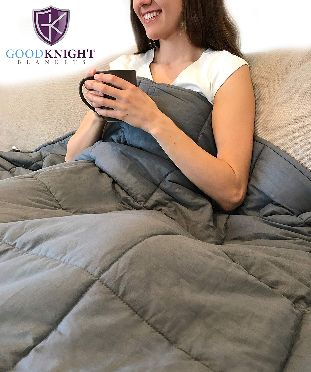"Good Knight Weighted Blanket | 60 ""x80"" 17 lbs 