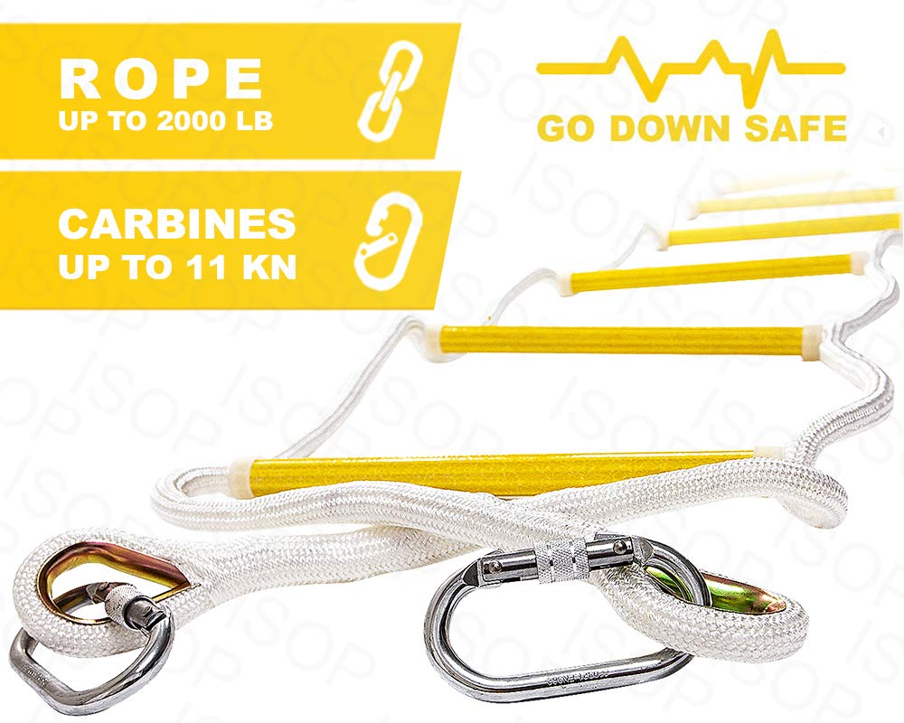 ISOP Emergency Fire Escape Ladder