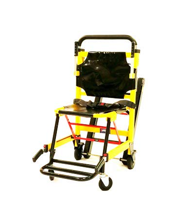 MS3C-300TS Aluminum Alloy EMS Evacuation Stair Chair, Weight Capacity 400lbs