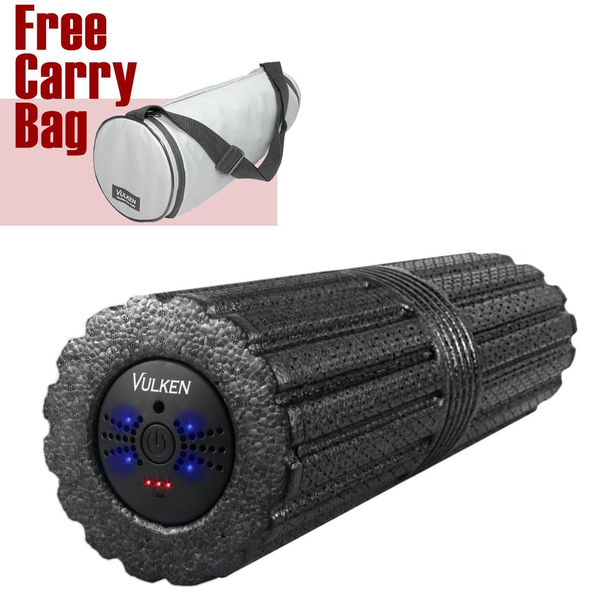 Vulken 4 Speed High-Intensity Vibrating Foam Roller