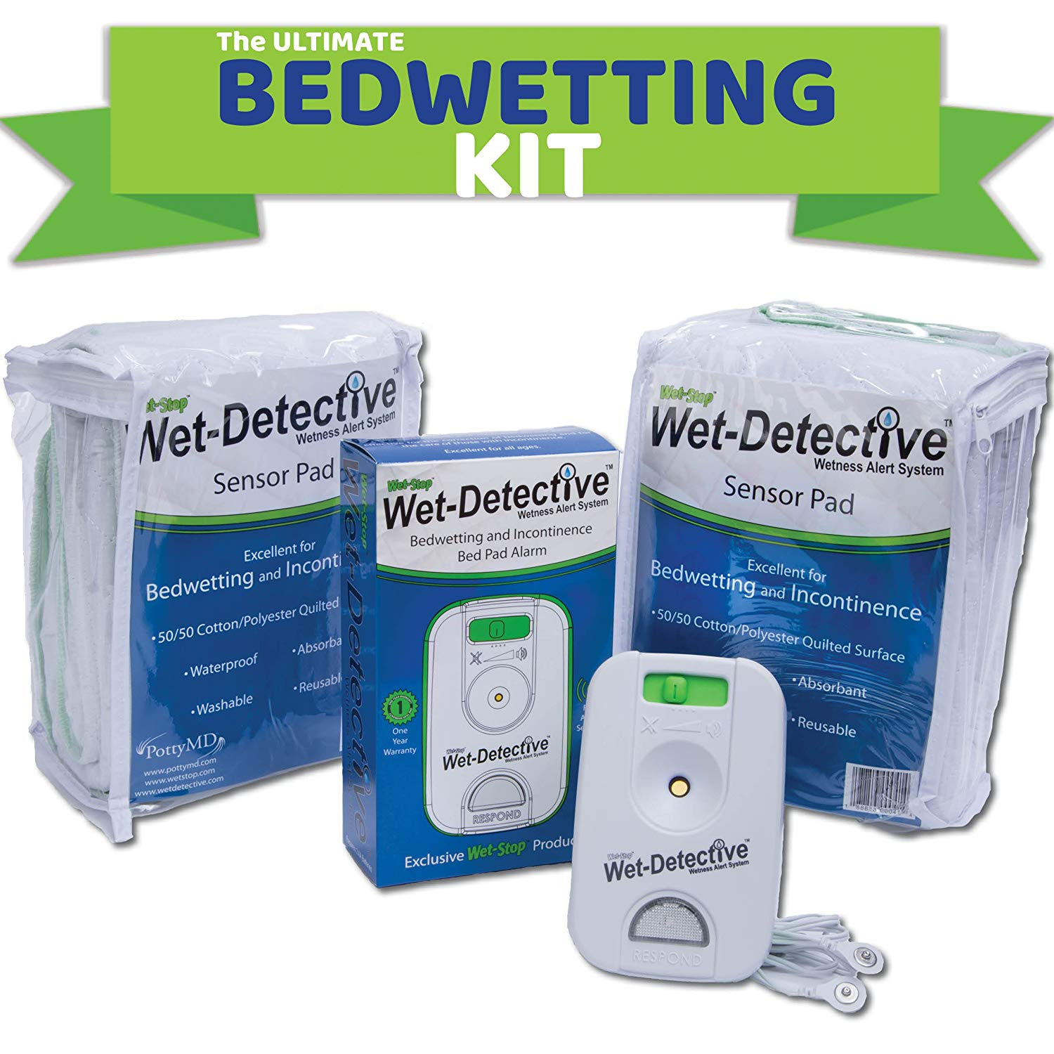 Wet Detective Bedwetting Kit