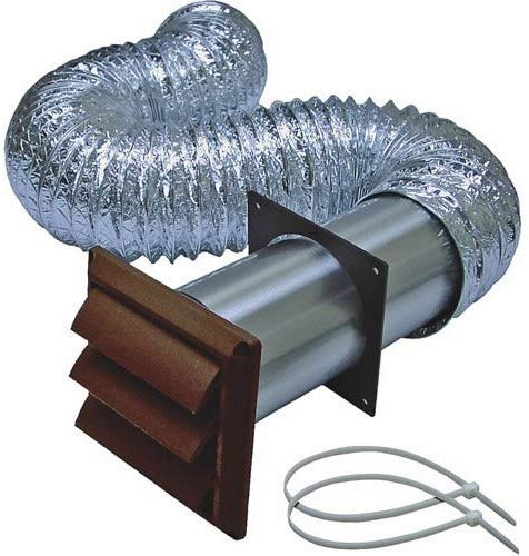 BROAN-NUTONE 1379B Louvered Dryer Vent Kit