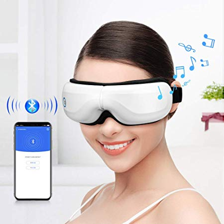 Bromose Wireless Foldable Rechargeable Massager for eyes