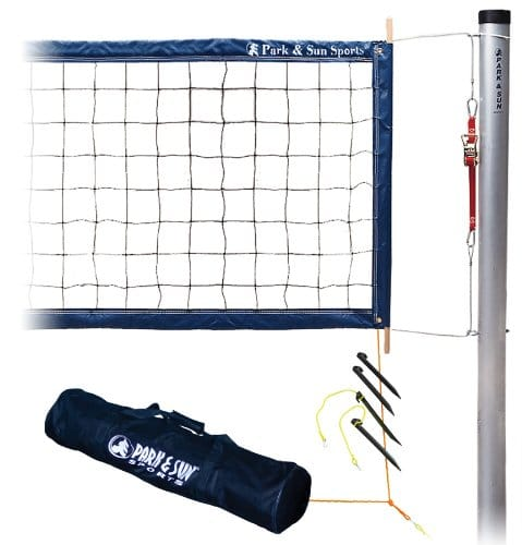 Permanent Professional Outdoor Volleyball Net System