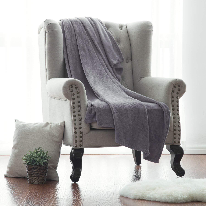Bedsure Flannel Fleece Luxury Blanket