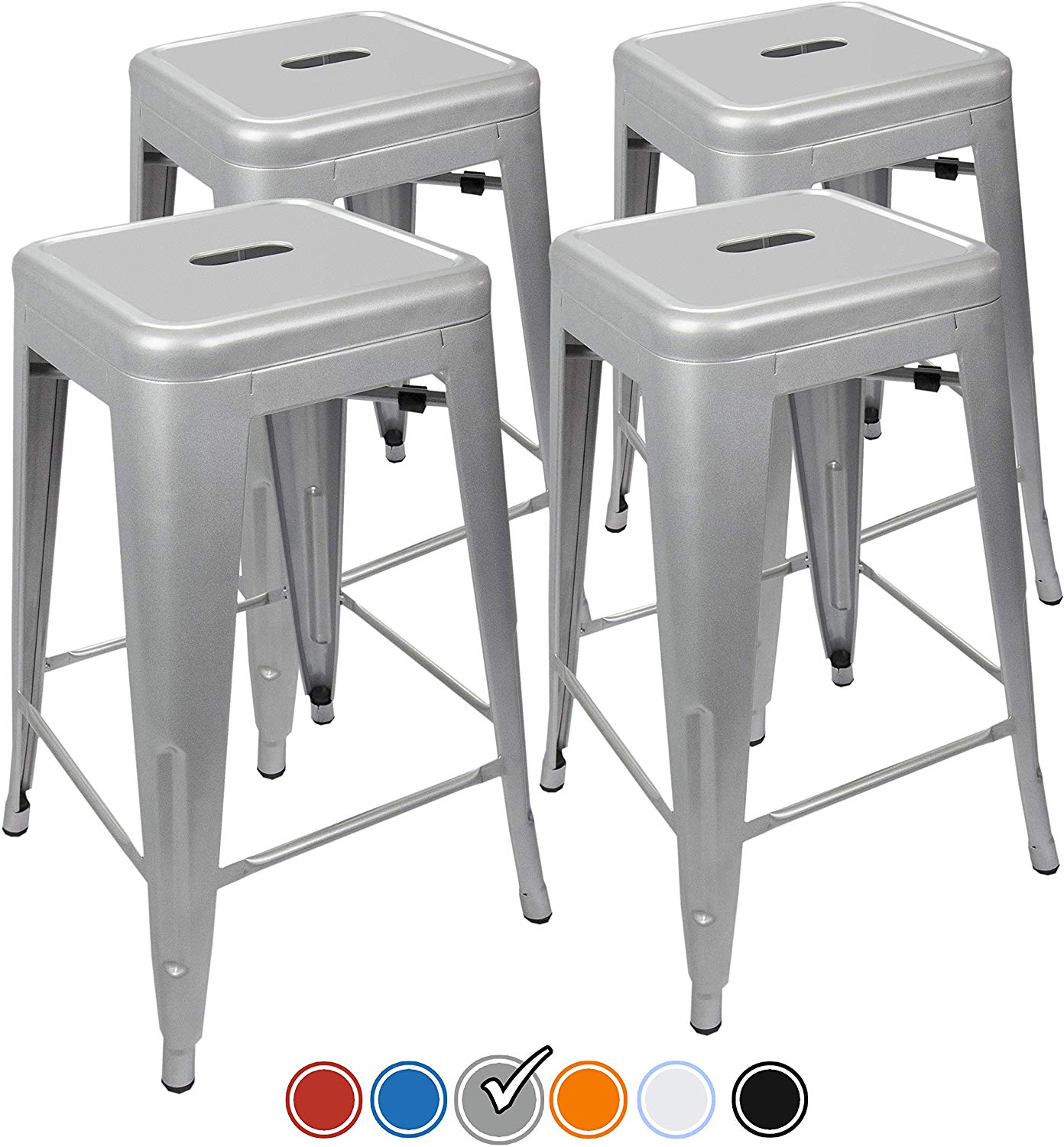 "UrbanMod 24"" Counter Height Bar Stools"