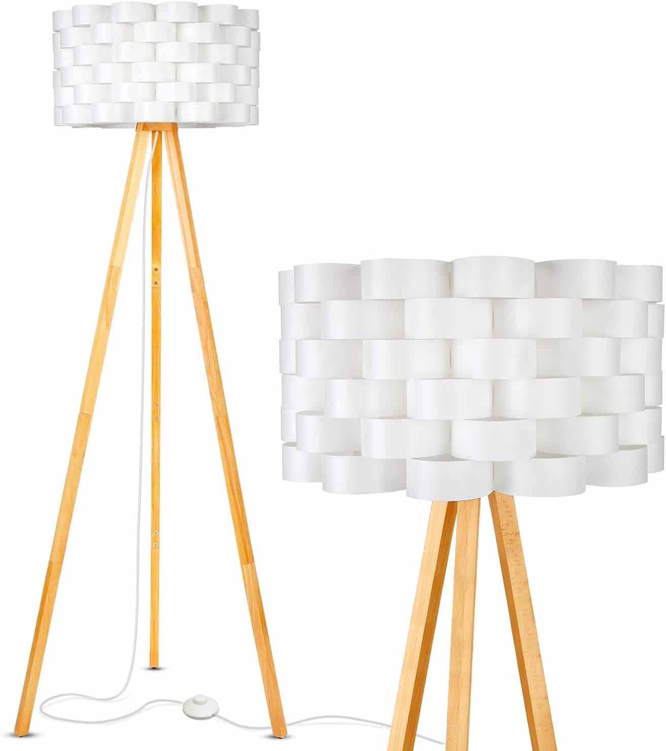 Brightech Bijou LED Tripod Floor Lamp