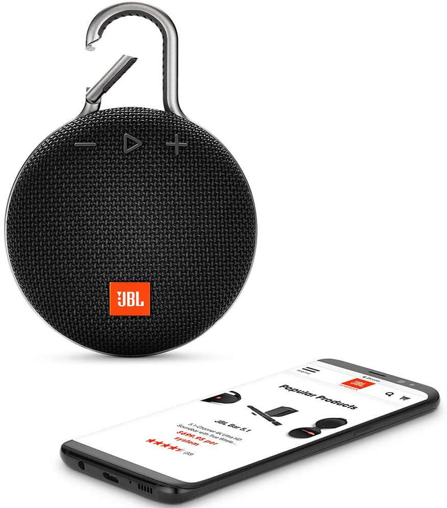 JBL Clip 3 Portable Waterproof Wireless Bluetooth Speakers