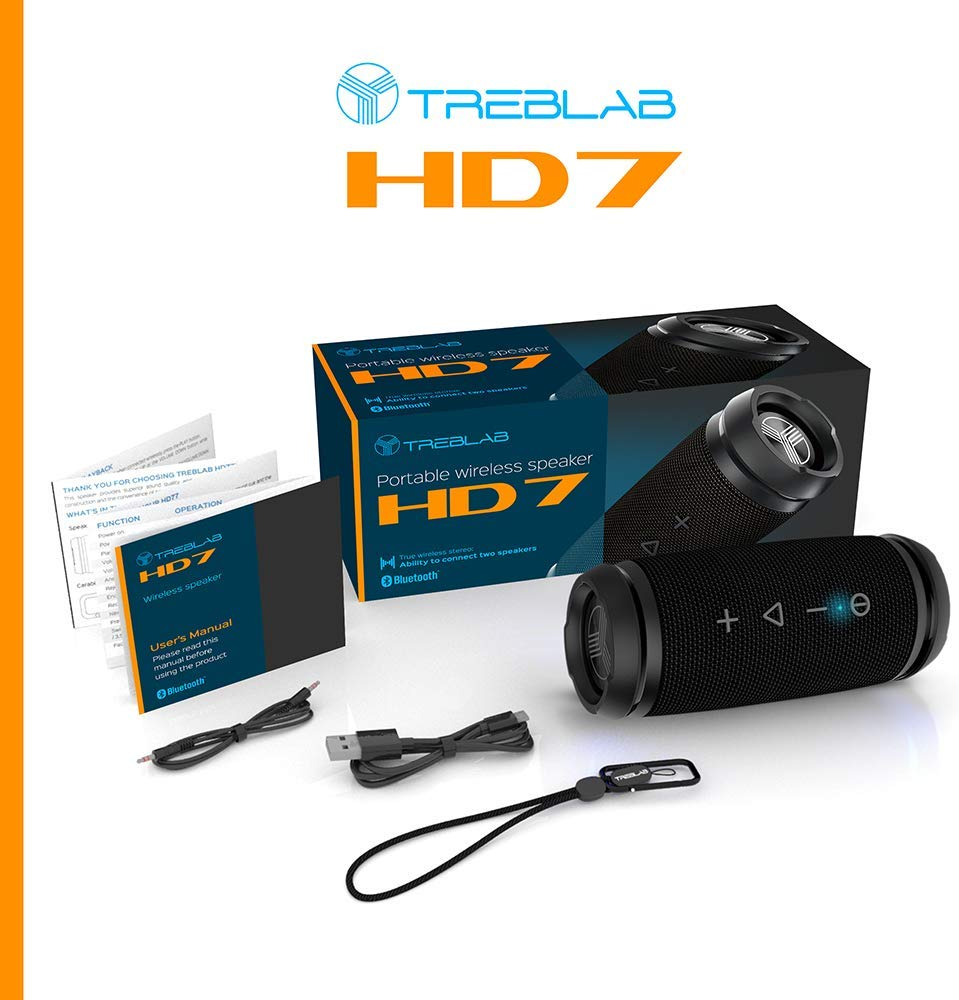 TREBLAB HD7 - Premium Bluetooth Speaker