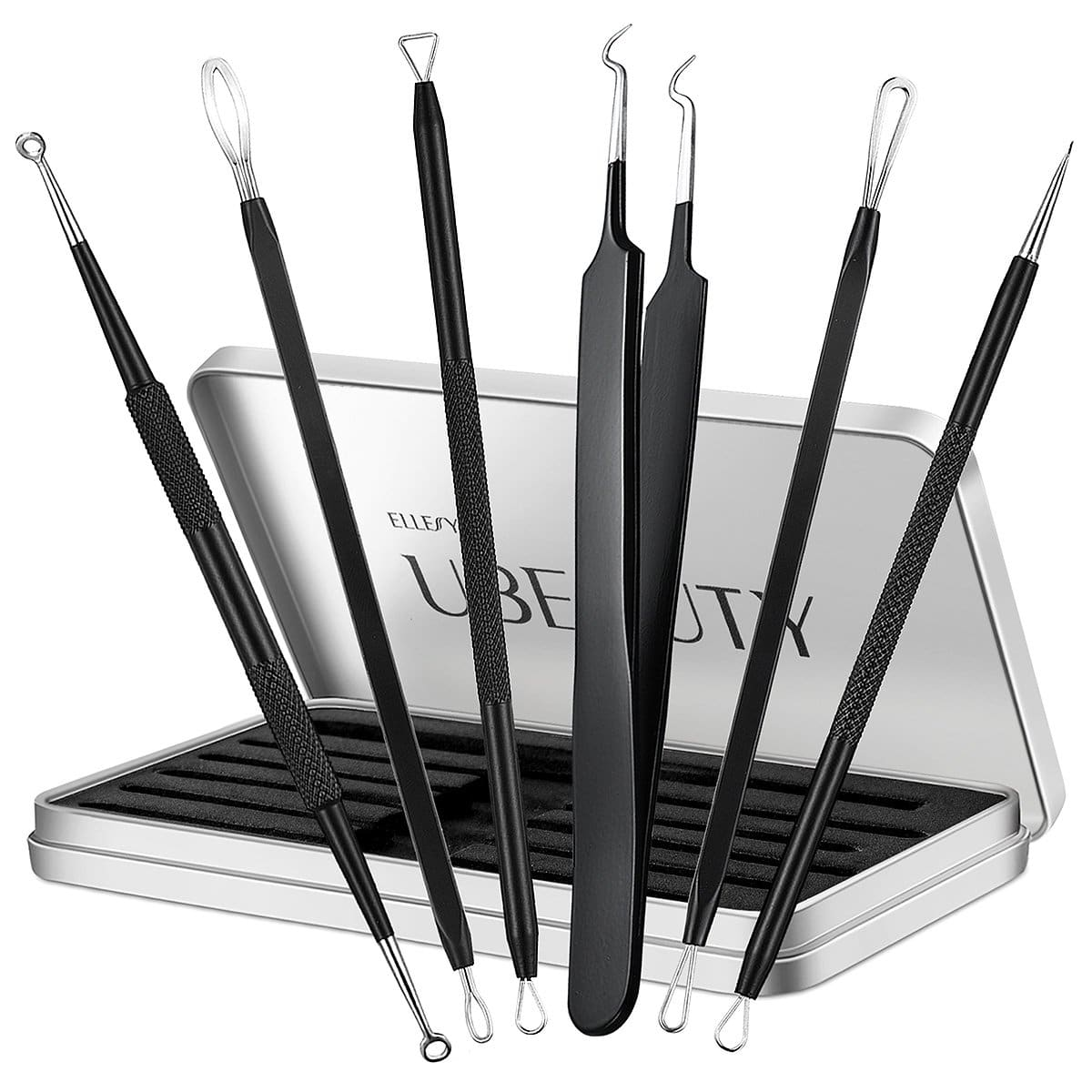 Ellesye Blackhead Removal tool 6 PCS Pimple Popper Tool