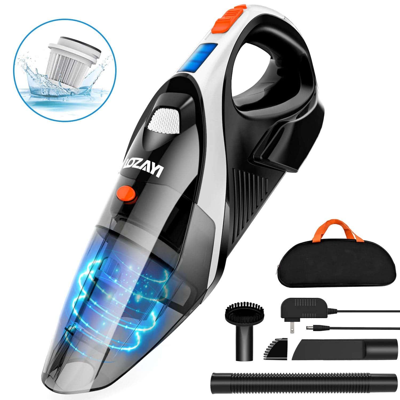 Handheld Vacuum, OZAYI 7KPA Cordless Vacuum Cleaner