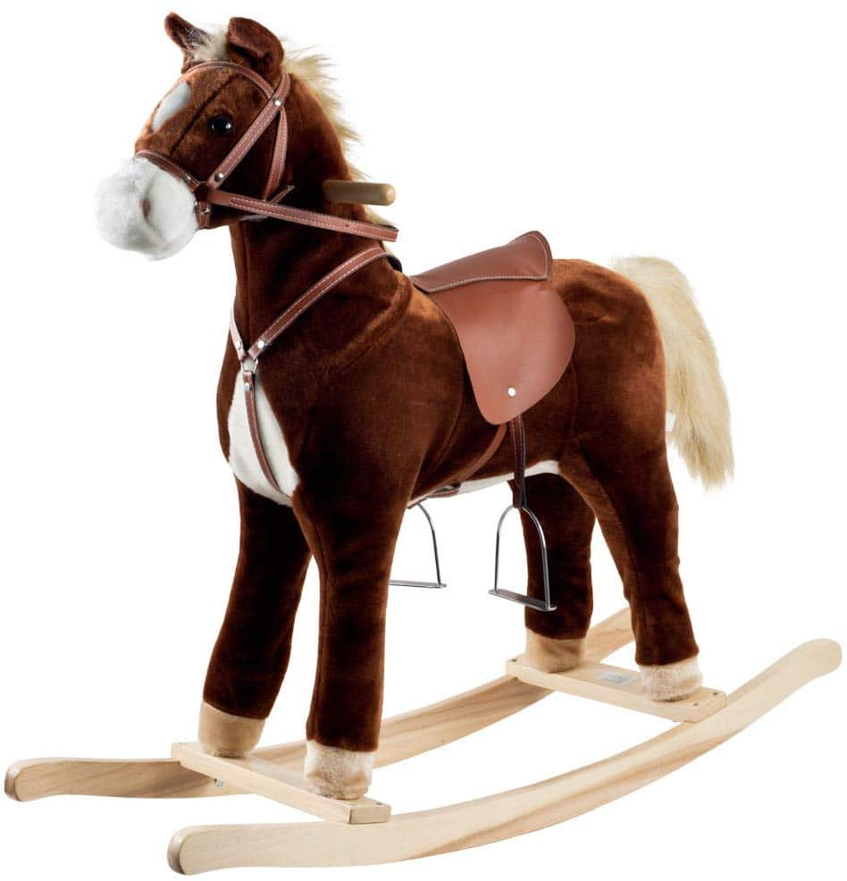 Happy Trails Rocking Horse
