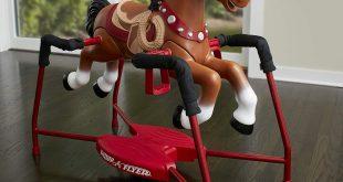 Radio Flyer Plush Interactive Riding Horse