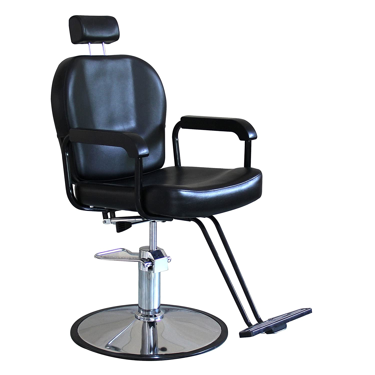 Shengyu Black Recline Hydraulic Styling Barber Chair Hair Spa Beauty Salon Equipment