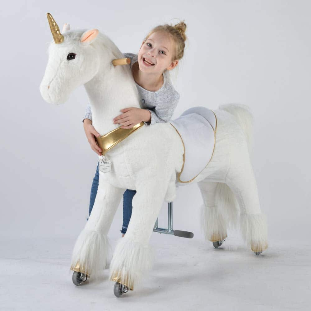 UFREE Unicorn Ride-On Toy