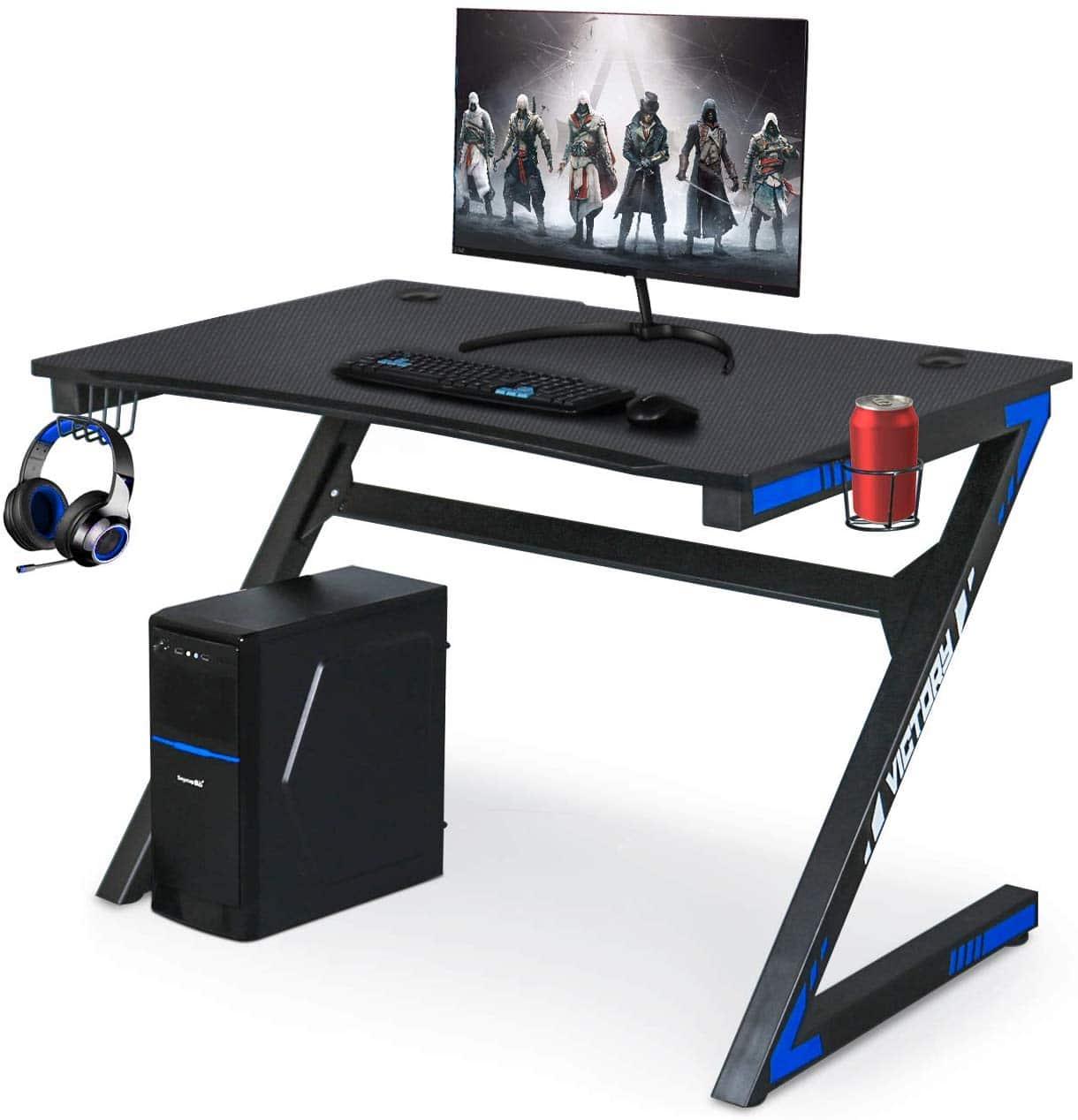 Yigobuy Carbon Fiber Gaming Desk