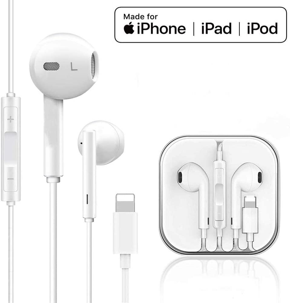 Isuperfine Earbuds Headset Wired Earphones Headphone With Microphone And Volume Control White Compatible With Iphone 11 11pro 11pro Max Xs Xs Max Xr X 8 8 Plus 7 And Ios 11 12 13 Formtech Inc Com