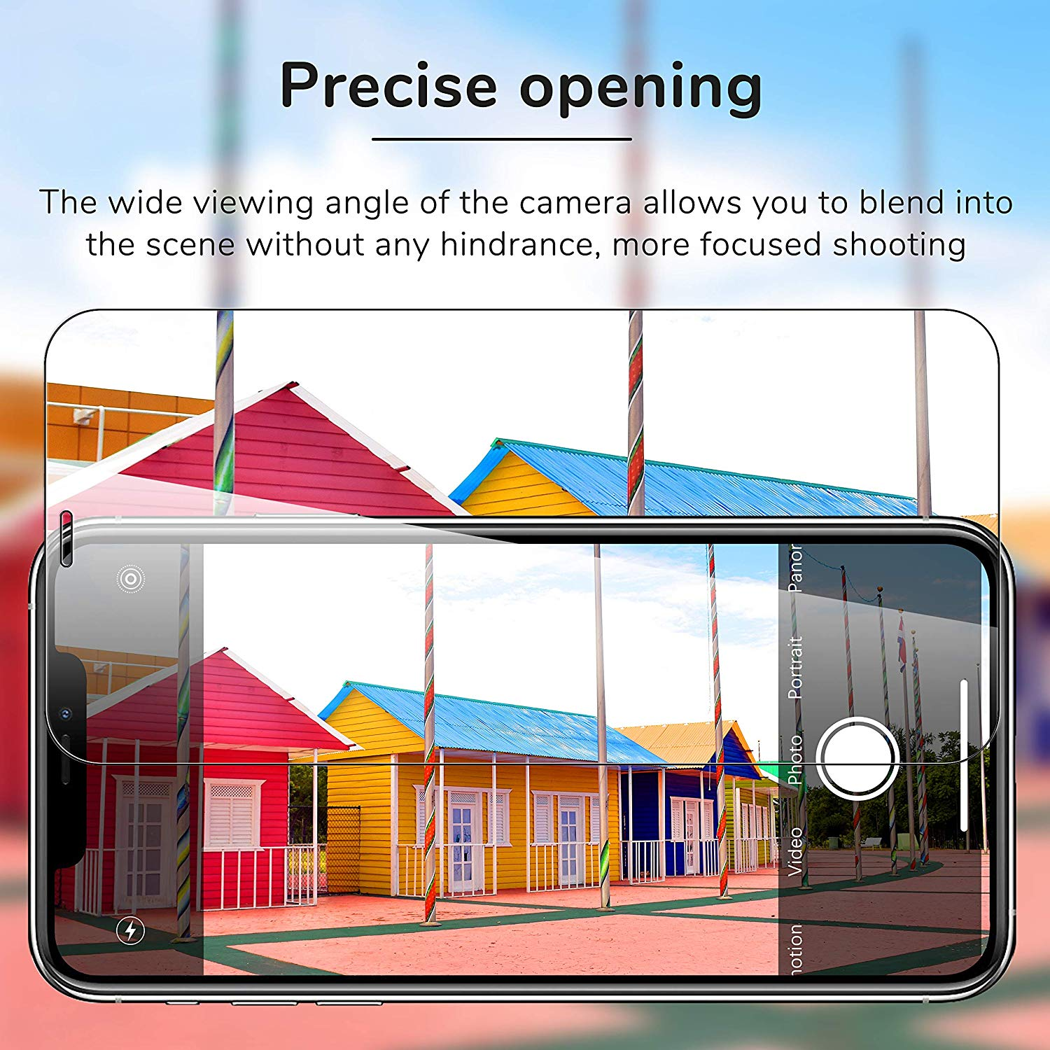 [4 Pack] UniqueMe 2 Pack Tempered Glass Screen Protector +2 Pack Tempered Glass Camera Lens Protector 9H Hardness for Apple iPhone 11 Pro Max (6.5 inches)