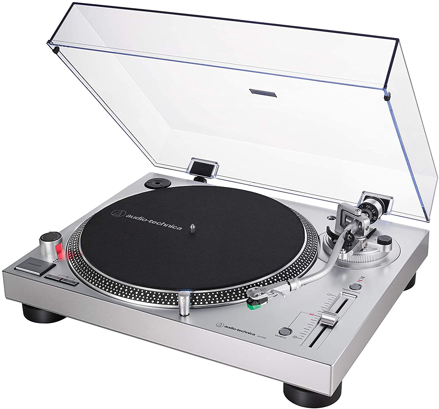 Audio-Technica Silver Record Player