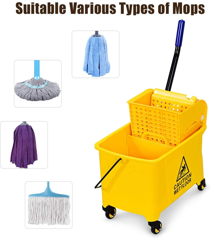 GOPLUS Commercial Mop Bucket