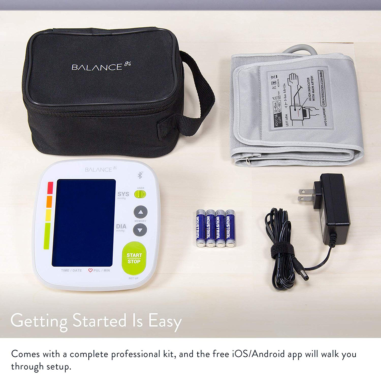 GreaterGoods Bluetooth Full Set Blood Pressure Monitor
