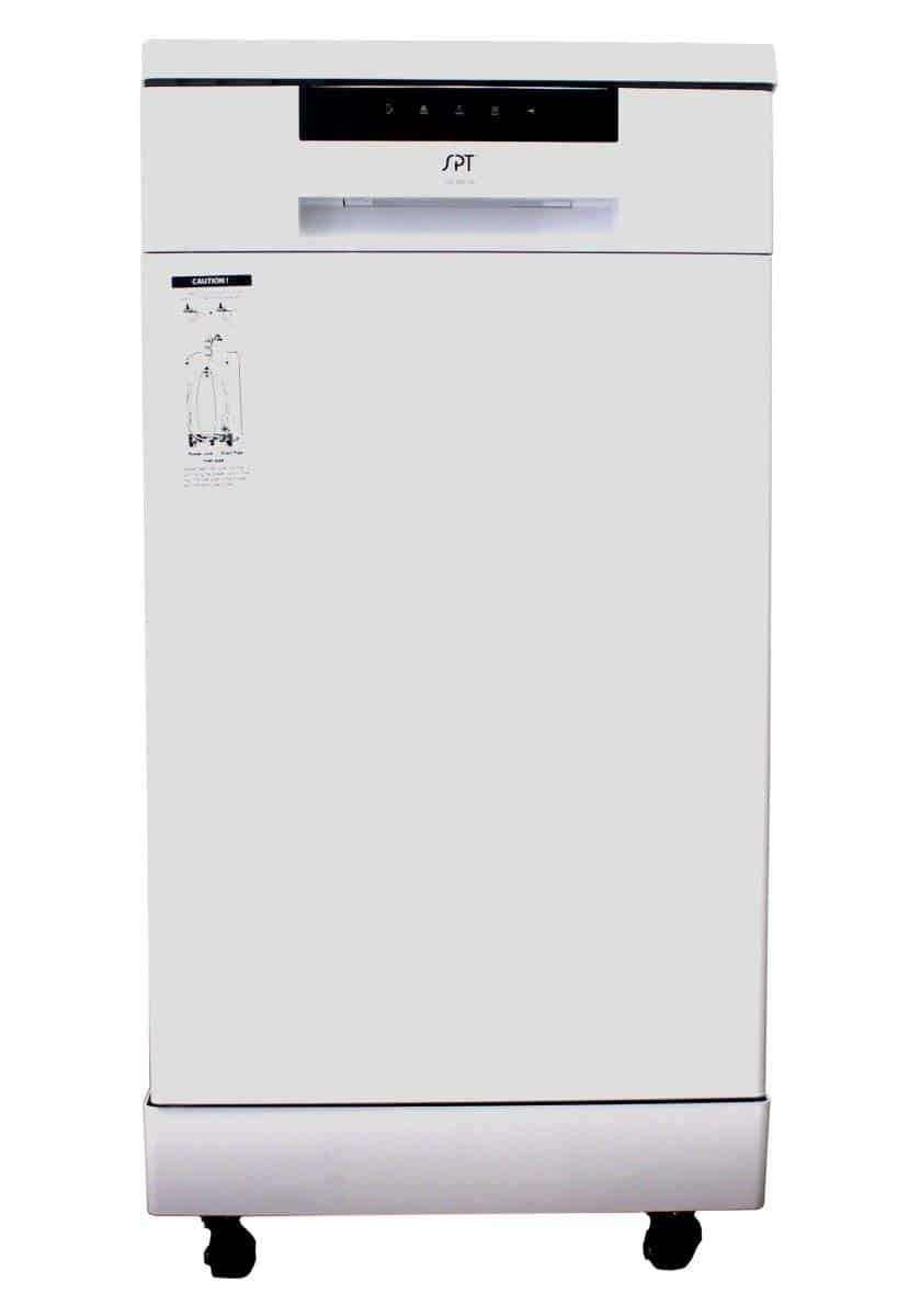 SPT SD-9263W 18″ Energy Star Portable Dishwasher